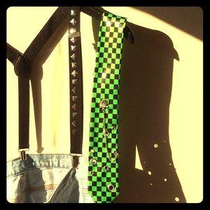 Cool Retro Tie and Suspender bundle