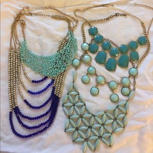 Blue and Turquoise Necklace Pack