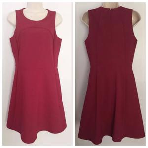 Madewell Dresses - Madewell Red Maroon Adore Sheath Dress
