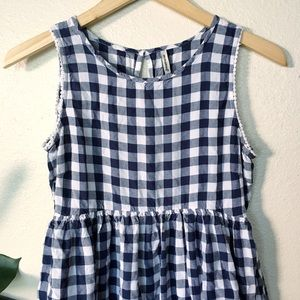 Dresses & Skirts - Gingham Babydoll Dress