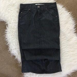 [Hudson] Denim Skirt