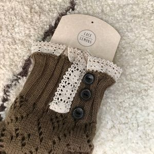 Other - Brown Boot Cuff