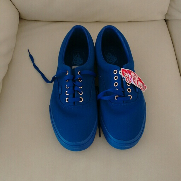 Men s Vans Era Gold Mono Blue 125e721aa