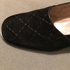 FERRAGAMO Black Suede Shoes!
