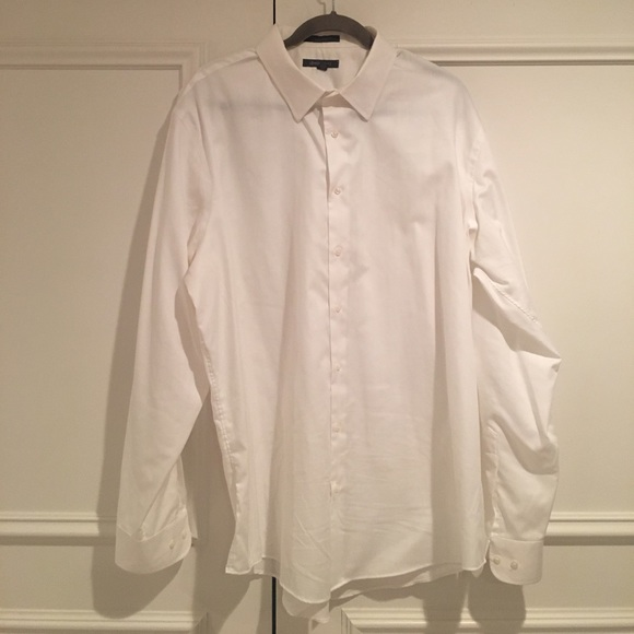Dress shirt non iron white dress shirt like new from for White non iron dress shirts