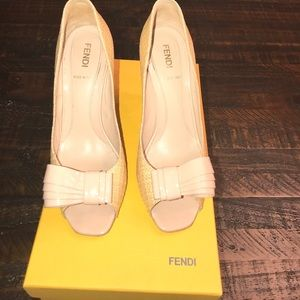 Authentic Fendi shoes.