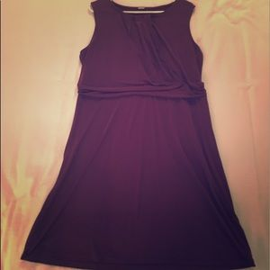 Dresses & Skirts - Plum/Purple stretchy dress