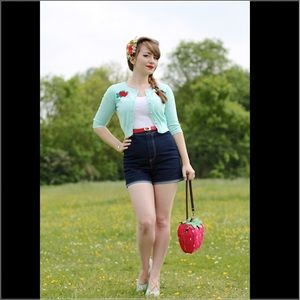 Casual 1950's Pinup High Waisted Shorts