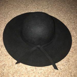 Brandy Melville Black Suede Hat