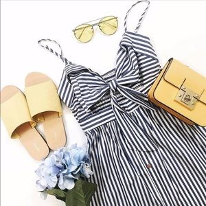 Tie Front Cutout Sundress