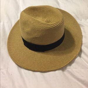 Perfect summer straw beach hat