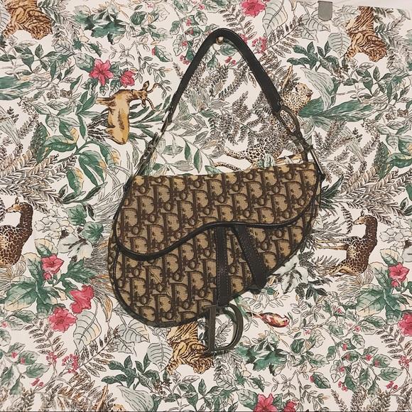 5f668a3e2694 Dior Handbags - 90 s Christian Dior Saddle Bag