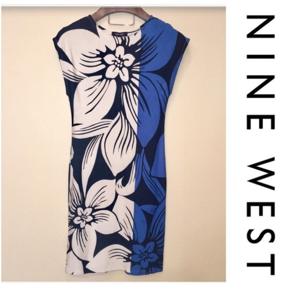Nine West Dresses & Skirts - Nine West | Bodycon Floral Dress