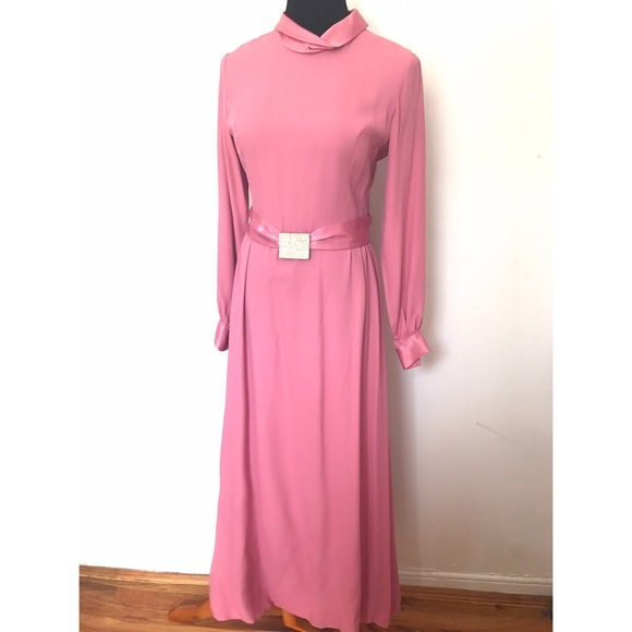 Vintage Dresses & Skirts - Beautiful 1960's Maxi Dress and Gown