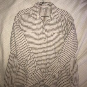 Madewell Striped Flannel