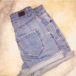 BDG high waist shorts