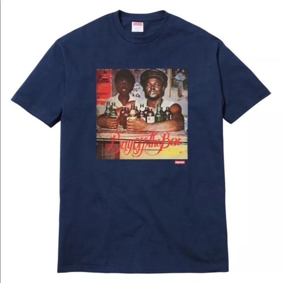 65eb62cf0b5a Supreme Shirts | X Luminous Off The Bar Tee Shirt Medium | Poshmark