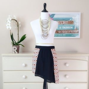 ❤️ Asymmetrical Skirt with Pockets