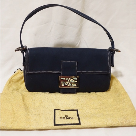 Fendi Handbags - Authentic Vintage Limited Edt. Fendi Baguette Bag 46d8afca4a1f3