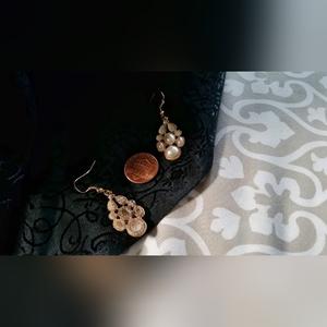 Jewelry - Pearl Embellished Earrings