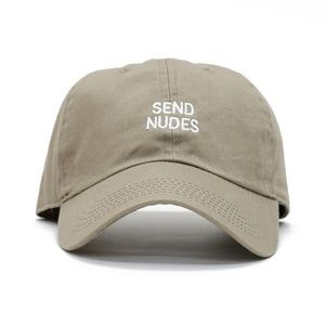 Send Nudes Dad Cap
