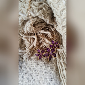Jewelry - Purple Lily Necklace