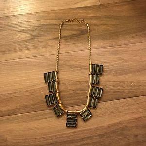 Jewelry - Gray Stone Statement Necklace