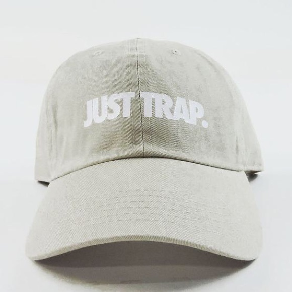 SuperlineATL Accessories - 🚫Sold🚫Just Trap Dad Cap - Beige