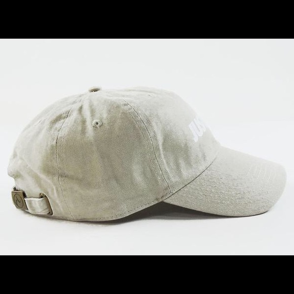 Stussy Accessories - Just Trap Dad Cap - Beige