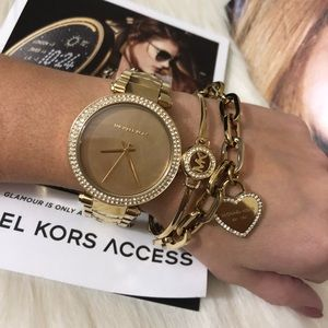 Brand New with Tags Michael Kors Gold Watch