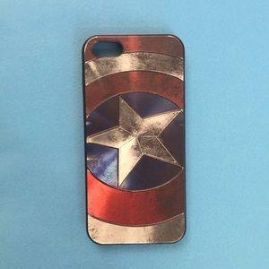 Captain America iPhone 5 Case