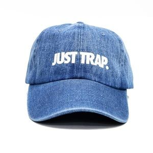 Just Trap Dad Cap - Denim