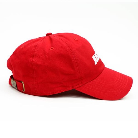 Supreme Accessories - Just Trap Dad Cap - Red