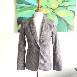 H&M black/brown blazer sz 6