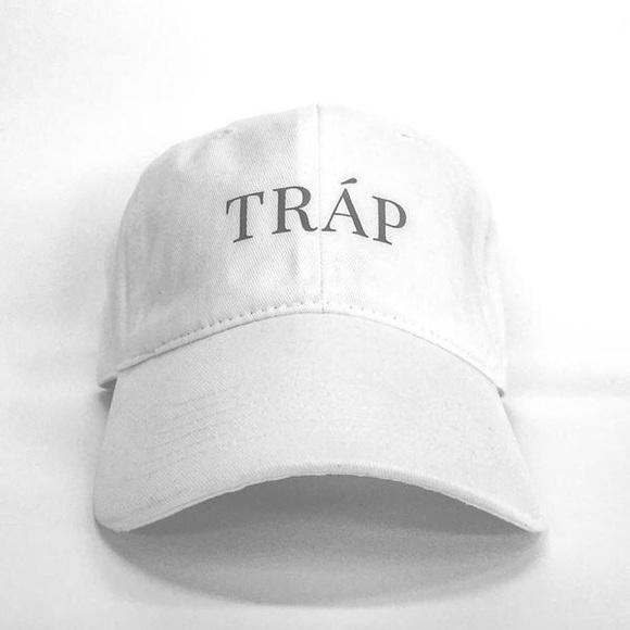 Stussy Accessories - Trap Dad Cap - White