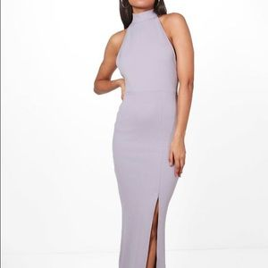 Dresses & Skirts - NEW Lilac High Neck Long/Maxi Dress