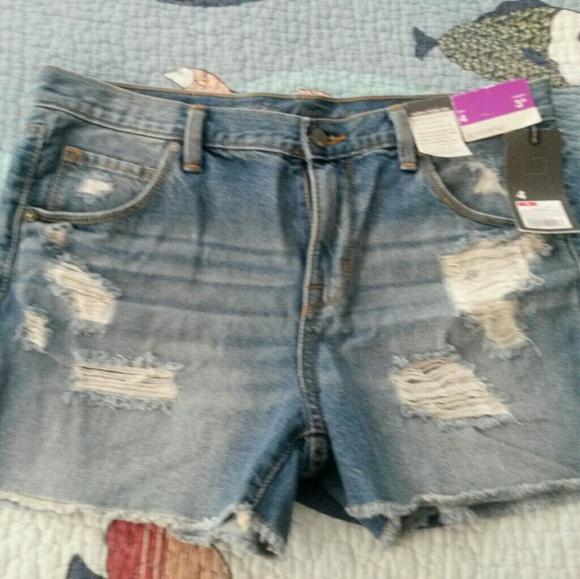 841566f15e3c NWT Mossimo 4 27 boyfriend short shorts