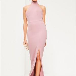 Dresses & Skirts - NEW Light Pink High Neck Long/Maxi Dress