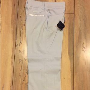 Burberry Women's Golf Pants, Light Blue, Size 2