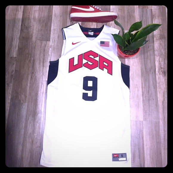 sports shoes 9efe9 eb624 Team USA Dwyane Wade Authentic 2012 Olympic Jersey