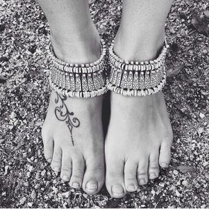 Jewelry | (x2) Boho chic anklet AND bracelet