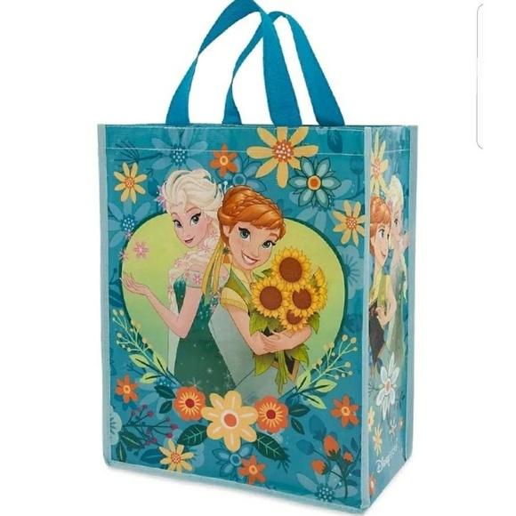 c68f3cefa9f NEW Frozen Fever Elsa Anna Spring Tote Bag