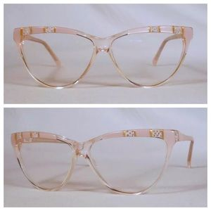 1970's Vintage Cateye Glasses, Paris, France