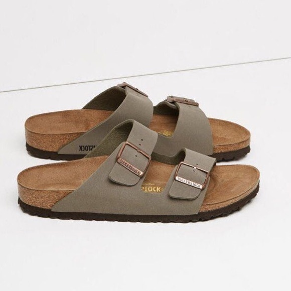 d01ffa166db74 Birkenstock Shoes - Birkenstock Arizona Sandal in Stone