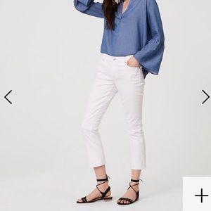 LOFT Modern Kick Crop Jean