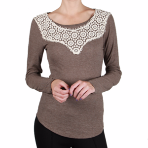 Anthropologie Tops - NWT Anthropologie  KNIT TOP W/ CROCHET DETAIL