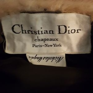 811408f0ab9 Christian Dior Accessories - Christian Dior Vintage fur hat