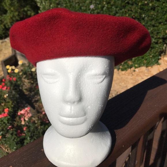 4caf3d64d09ff Kangol Accessories - Kangol Red Wool Beret