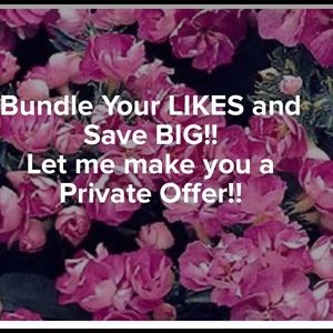 💕Bundle your likes for a private offer!💕