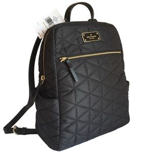 "KATE SPADE ♠️""Hilo/Blake Avenue"" Quilted Backpack!"